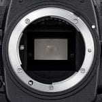 Where lenses are mounted on a camera