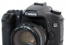 The Canon EOS 40D