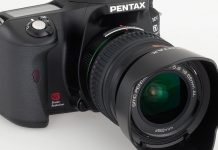 Pentax K100D Super digital SLR