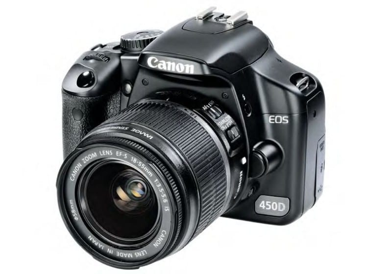 Canon EOS 450D first impressions - Know Your DSLR