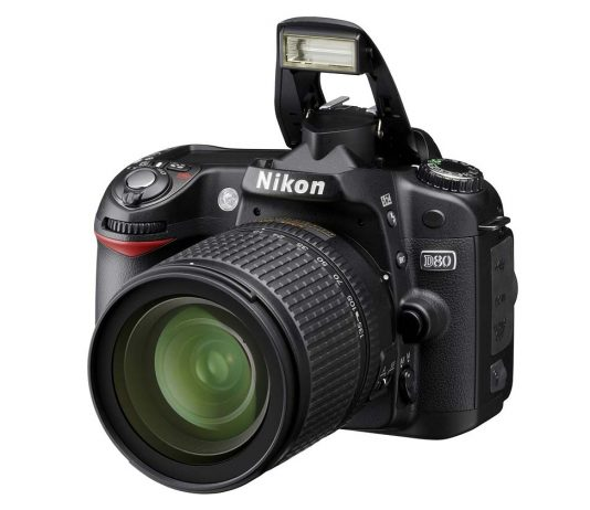 Nikon's powerful entry-level D80 DSLR camera