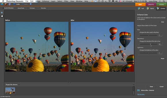 Photoshop Elements 6 screenshot