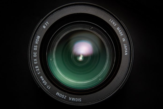 Closeup of one of the Best Sigma Lenses