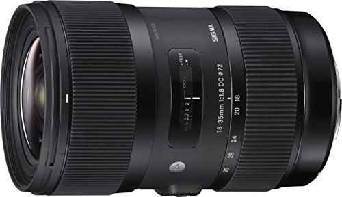 Photo of the Sigma 18-35mm F1.8 Art DC HSM Lens