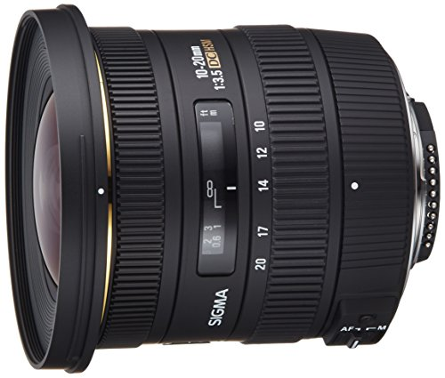 Photo of the Sigma 10-20mm f/3.5 EX DC HSM ELD SLD Aspherical Super Wide Angle Lens